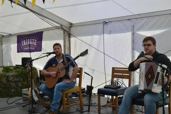 Tom and Kev @ the Mussel Festival